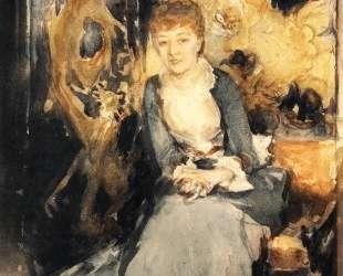 Henrietta Reubell — Джон Сингер Сарджент