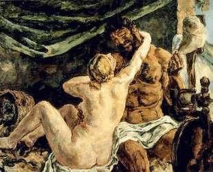 Геркулес и Омфала — Пётр Кончаловский