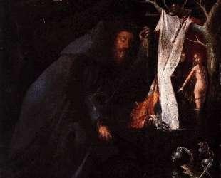 Святые отшельники. Триптих (левая панель) — Иероним Босх
