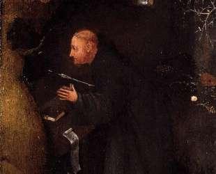 Святые отшельники. Триптих (правая панель) — Иероним Босх
