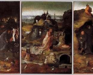 Святые отшельники. Триптих — Иероним Босх