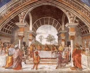 Herod's Banquet — Доменико Гирландайо