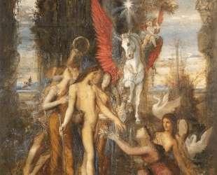 Hesiod and the Muses — Гюстав Моро