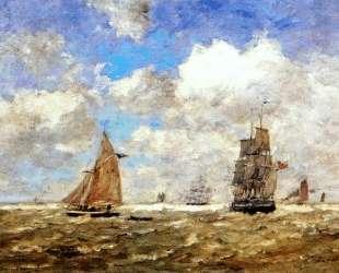 High seas — Эжен Буден