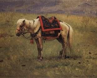 Himalayan ponies — Василий Верещагин