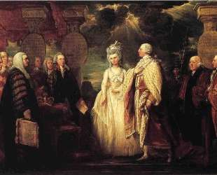 His Majesty George III Resuming Power — Бенджамин Уэст