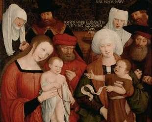 Holy Family — Бернхард Штригель