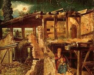 Святая ночь (Рождество Христа) — Альбрехт Альтдорфер