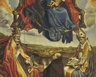 Holy Virgin in Glory — Робер Кампен