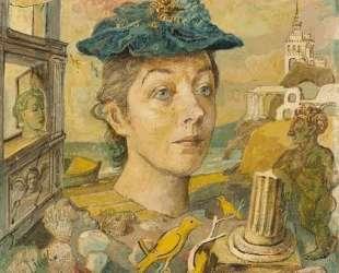 Посвящение жене художника, Марусе — Давид Бурлюк