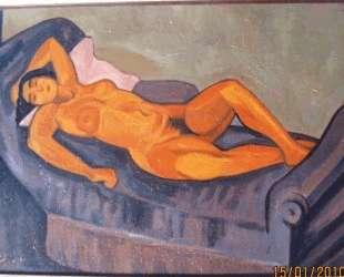 Hommage a Modigliani [Nude] — Юрий Анненков