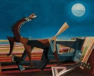 Hommage au Douanier Rousseau, le reve de la bohemienne endormie — Жорж Папазов