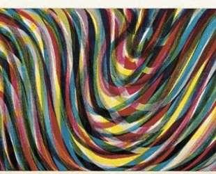 Horizontal Wavy Lines — Сол Ле Витт
