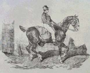 Horse carriage — Теодор Жерико