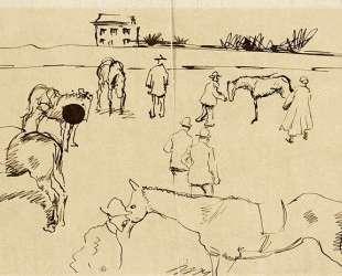 Horse Market — Август Маке