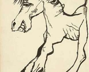 Улыбающаяся лошадь — Люсьен Фрейд