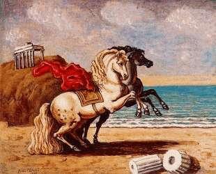 Лошадь и храм — Джорджо де Кирико