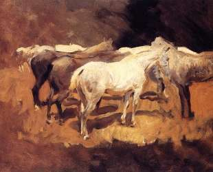 Horses at Palma — Джон Сингер Сарджент