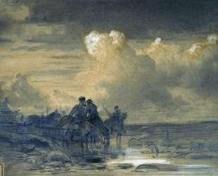 Лошади на водопое — Фёдор Васильев