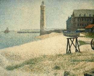 Приют и маяк, Онфлёр — Жорж Сёра