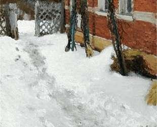 Угол дома зимой — Игорь Грабарь