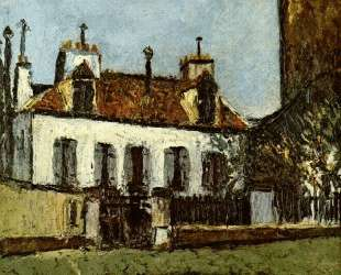 House in the Suburbs of Paris — Морис Утрилло