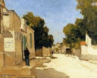 House of Millet at Barbizon — Иохан Хендрик Вейсенбрух