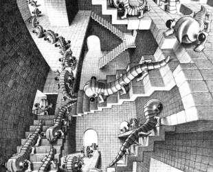 House of Stairs — Мауриц Корнелис Эшер