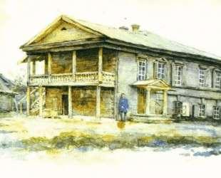 Дом Суриковых в Красноярске — Василий Суриков