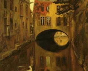 House over the Bridge — Диего Ривера