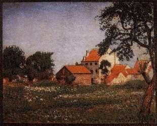 Houses at La Hulpe — Жорж Леммен