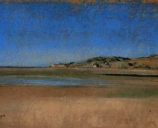 Дома у моря — Эдгар Дега