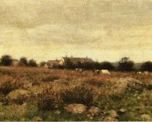 Houses in Pasture — Джулиан Олден Вейр