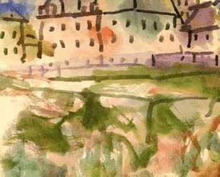 Houses near the Gravel Pit — Пауль Клее