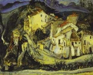 Houses of Cagnes — Хаим Сутин
