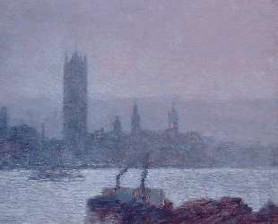 Houses of Parliament, Early Evening — Чайльд Гассам