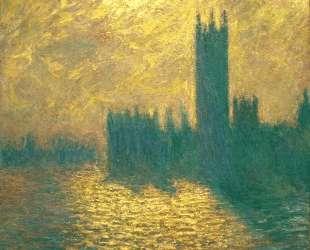 Вестминстерский дворец — Клод Моне