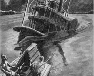 Huckleberry Finn — Томас Гарт Бентон