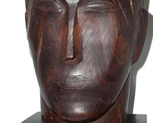 Human head — Осип Цадкин