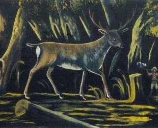 Охотник — Нико Пиросмани