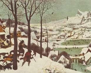 Охотники на снегу — Питер Брейгель Старший