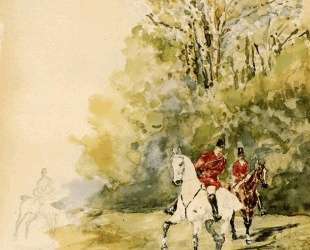 Hunting — Анри де Тулуз-Лотрек