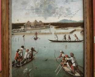 Hunting on the Lagoon — Витторе Карпаччо
