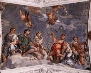 Hyman, Juno and Venus — Паоло Веронезе