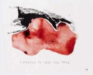 Я хотела любить тебя больше — Луиза Буржуа