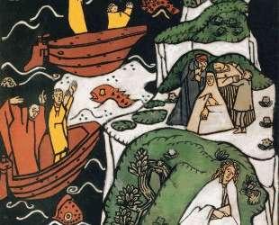 Illustration for 'Die Traumenden Knaben' — Оскар Кокошка