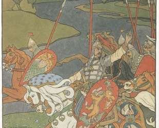 Иллюстрация к былине 'Вольга' — Иван Билибин