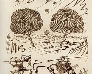 Illustration to a poem by Firdausi 'Shahnameh' — Мартирос Сарьян