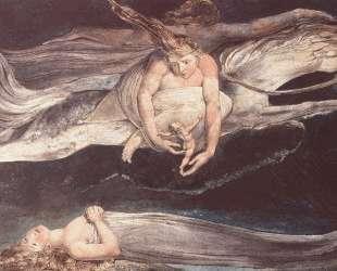 Иллюстрация к поэме Данте 'Божественная комедия' — Уильям Блейк
