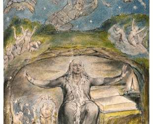 Иллюстрации к поэмам Джона Мильтона 'Веселый' и 'Задумчивый' — Уильям Блейк